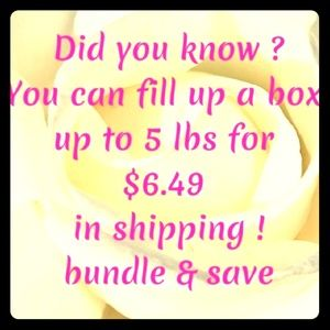 Save on shipping bundle!